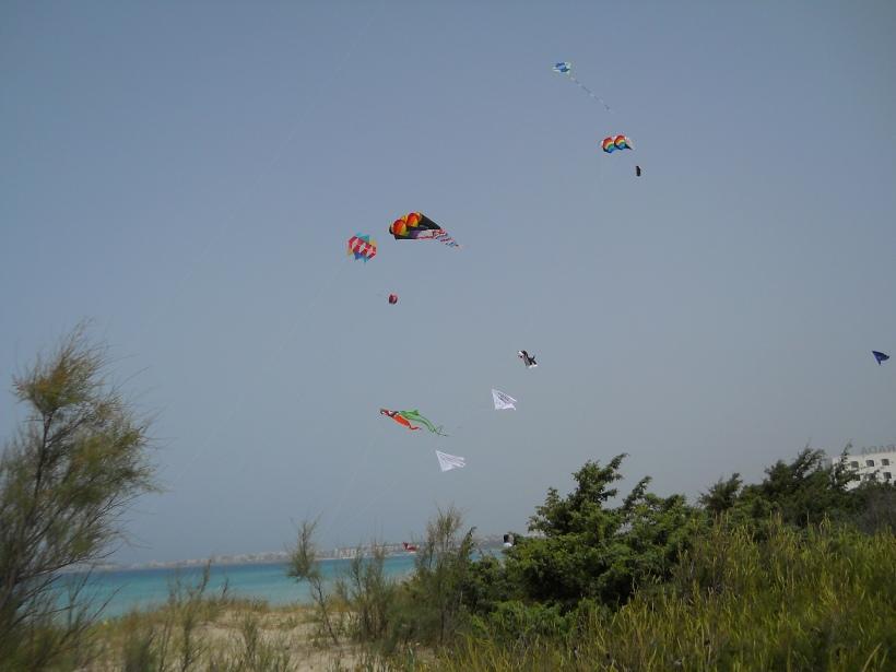 Festival degli aquiloni a Gallipoli